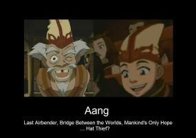 Aang, Master Hat Thief by Sillybuns1138