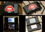 Glossy lips on NDS by SethApophis