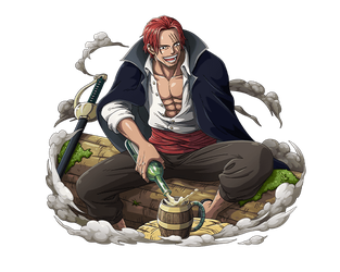 Akagami Shanks One of Four Yonko by bodskih