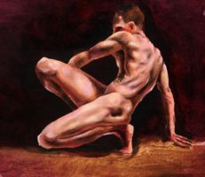 Figure Painting by TheDeviantDrawer