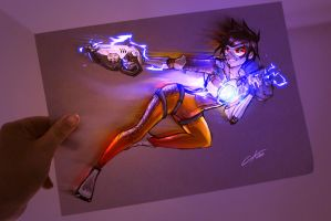 Tracer Fanart by CKibe