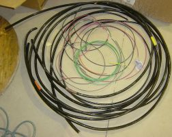 Coiled Electrical Wiring Props by FantasyStock
