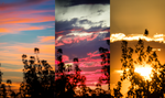 Sunset Panel Cloud Focus by Shastro