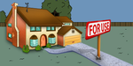 Simpson's Home by austin123