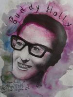 Buddy Holly by missthirteen