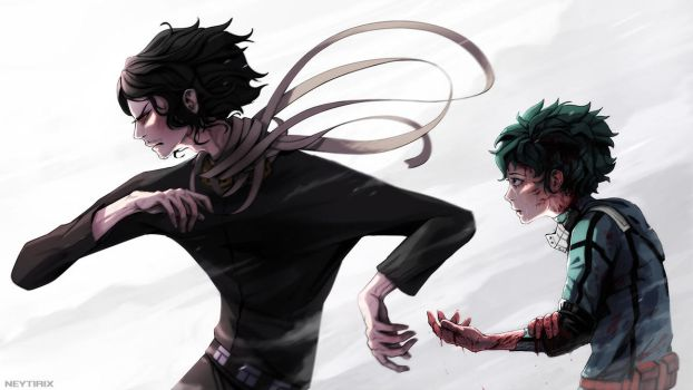 I got this kiddo (BNHA Fanart) by Neytirix