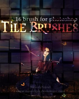 Tile Brushes by Neveryph-stock