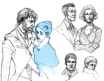 dishonored doodle by Min1118