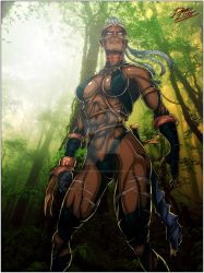 Amazon warrior by TheInsaneDarkOne