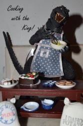Godzillas cooking show by wolfin22