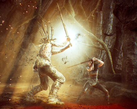 HellBlade Screen Shot by Salmoonella