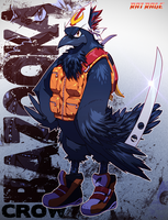 Bazooka Crow +2014+ by Robaato