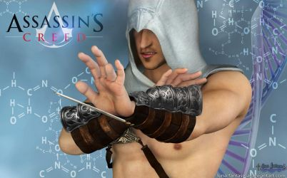 Altair in the Animus by Luna Fantasma by Luna-Fantasma