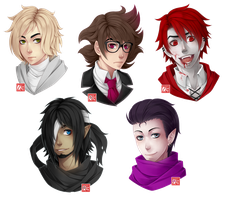 C - headshots batch 3 by zero0810