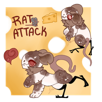 JR Auction - Rat Attack (closed) by loveburb