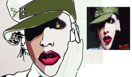 Another Marilyn Manson by 6maryjane