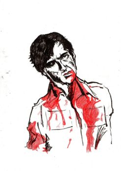 Steven Dawn Of the Dead sketch by Ditch-scrawls
