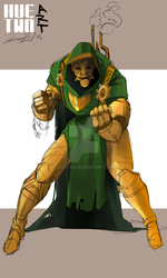 Copper Von Doom by HueTwo