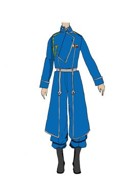 FMA State Military Uniform by lovelyverdigris