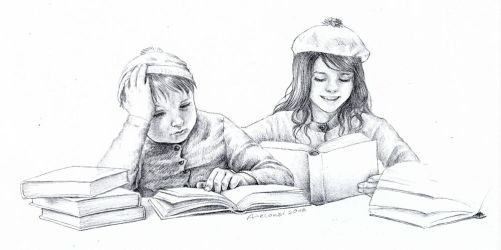 Eric and Wendy by AlessiaPelonzi