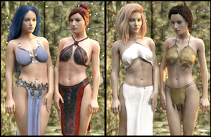 Sneak Preview: Fantasy Clothing Megapack Genesis 8 by SickleYield