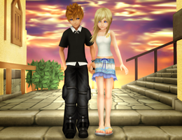 Two Years Later - Roxas/Namine by SorasPrincesss