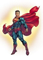 Superman by davidyardin