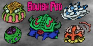 Newer Squish Pods by MadGoblin