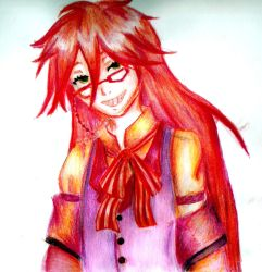Just Grell by o0-hiitomii-0o