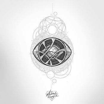 Eye of Agamotto tattoo design by MateusCosme