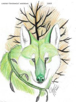 Earth Wolf by Caratinis