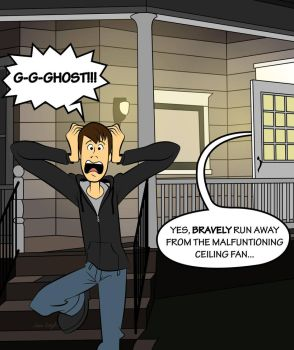 G-G-GHOST!!! by JessiArts