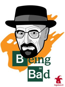Breaking Bad: Walter White vs Heisenberg by logolocoadv