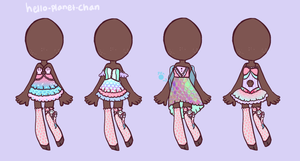 [outfit set] - cthonicsquid [1/2] by hello-planet-chan