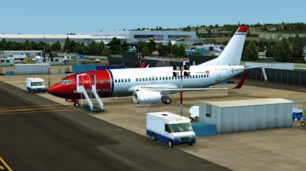 Norwegian: Boeing Renton by Invader-Tak2015