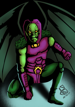 October 30, Annihilus by Alessadr