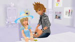 Right Back in the Water Roxas and Namine MMD by 9029561