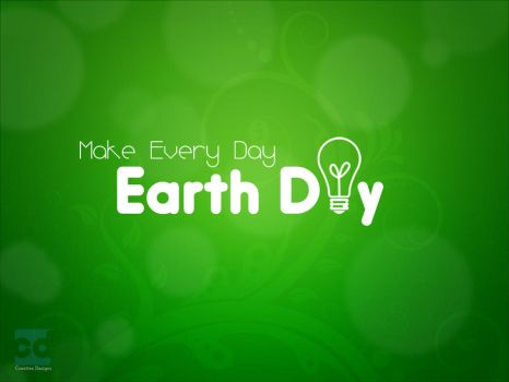 every day earth day by Faisalharoon
