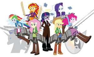 Attack on Equine: The Mane 7 by Amante56