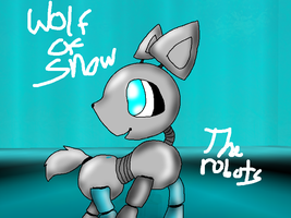 Wolf of snow from The robots by thisisspartacat1230