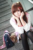 Casual - Winter Fuku by Xeno-Photography
