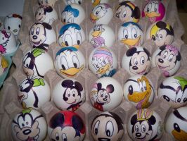 Easter Eggs 2 by Rene-L