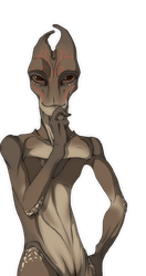 The very model of the sexy salarian by SilverDrein