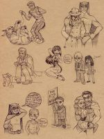 Watchmen scribbles by Luthie13
