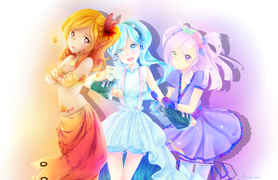 [Gift] Ena, Aria and Spica by Rushire
