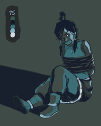 Korra kidnapped by Cacah05