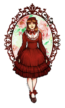 Lolita dress for Clara by Miss-Alex-Aphey