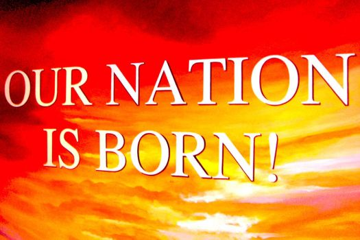 Our Nation Is Born by whooperjunior