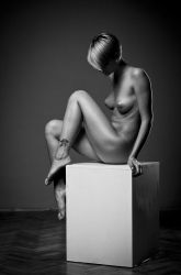 Nude Cube 2 by ToMinA-Art