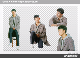 [SHARE PNGs] 10cm X Chen #Bye Babe @EXO by SuzyKimJaeXi